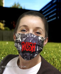 Rush rock band anti pollution face mask