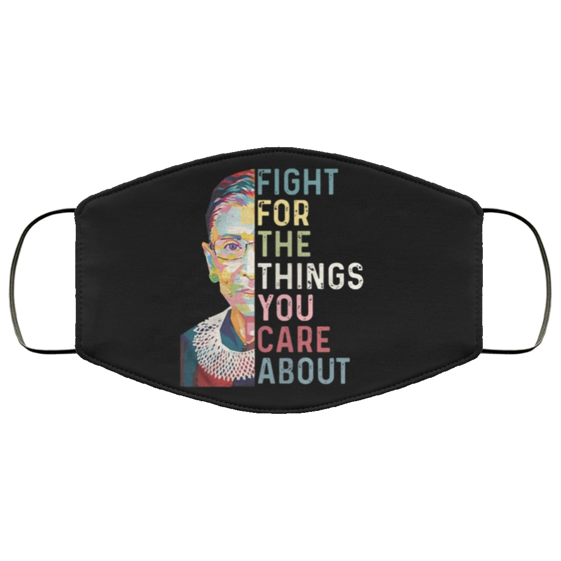 Ruth bader ginsburg fight for the things you care about anti pollution face mask 4