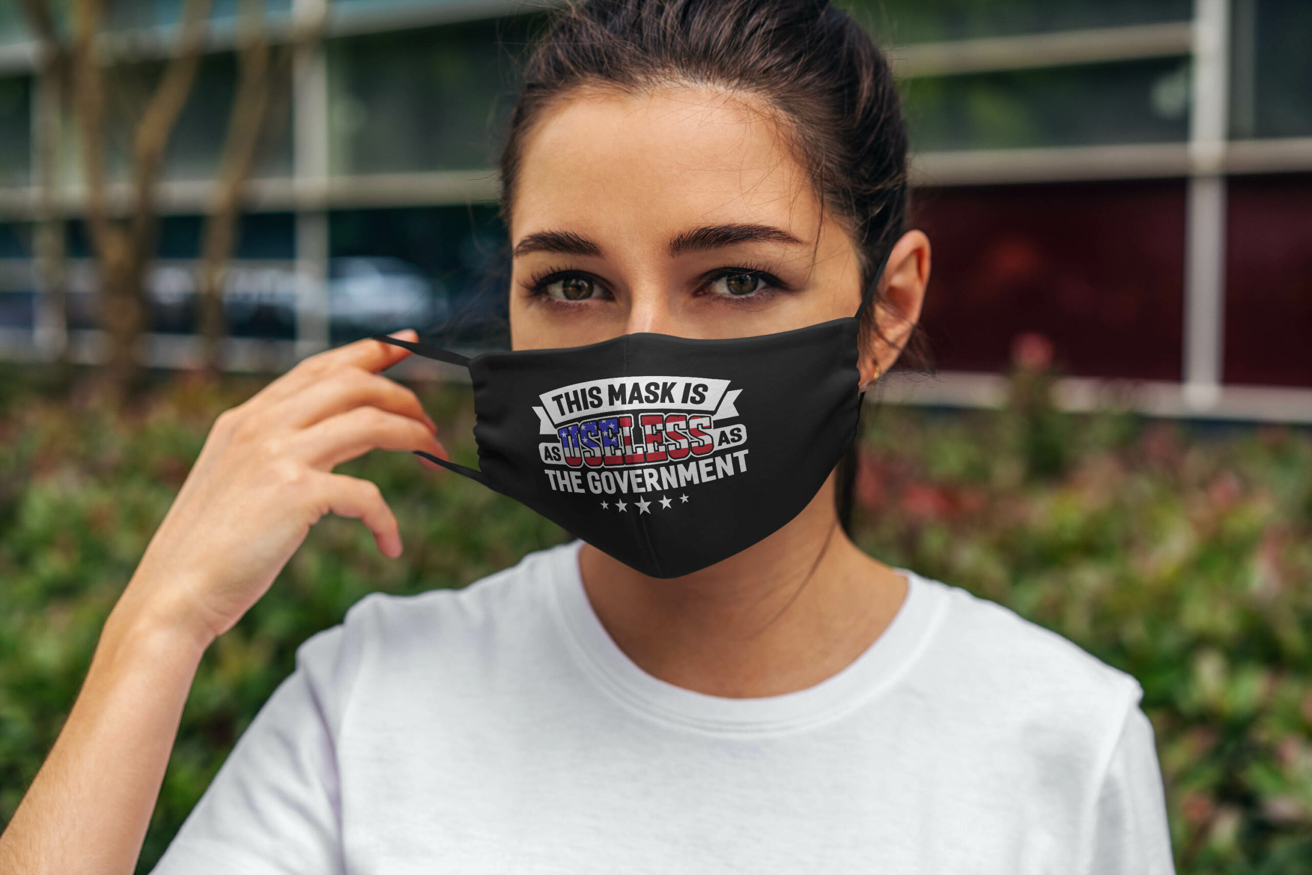 Sarcastic this mask is as useless as the government anti pollution face mask 4