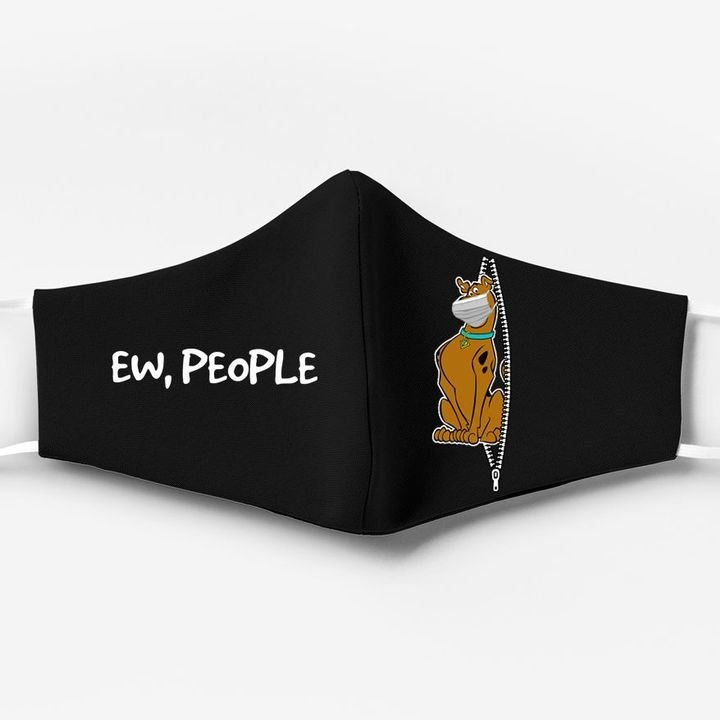 Scooby-doo ew people full printing face mask 1