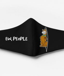 Scooby-doo ew people full printing face mask 4