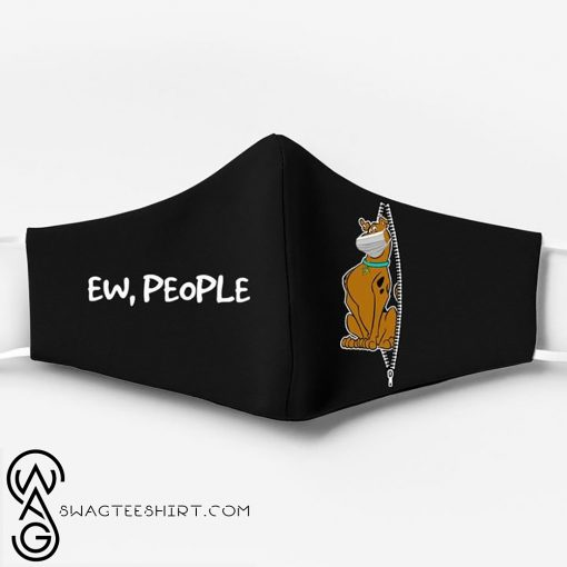 Scooby-doo ew people full printing face mask