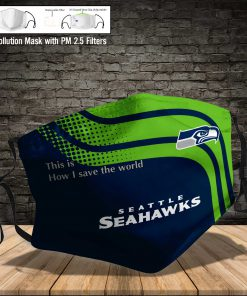 Seattle seahawks this is how i save the world full printing face mask 3