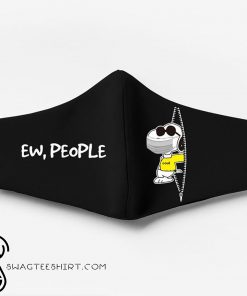 Snoopy ew people full printing face mask