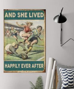Soccer girl and she lived happily ever after poster 1