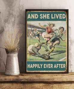 Soccer girl and she lived happily ever after poster 2