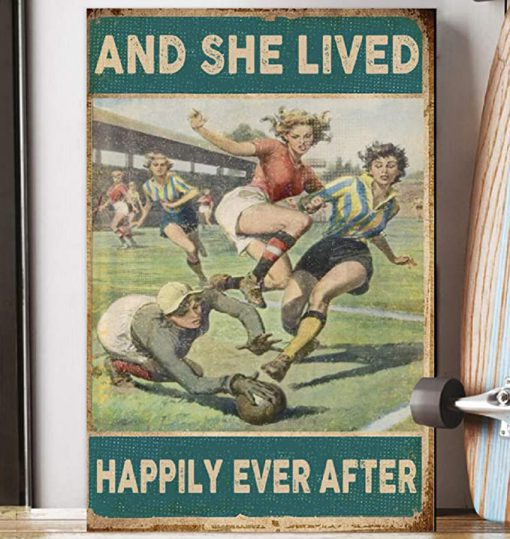 Soccer girl and she lived happily ever after poster 4