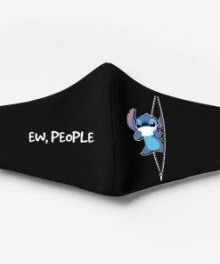Stitch ew people full printing face mask 2