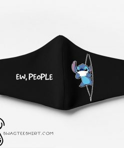 Stitch ew people full printing face mask