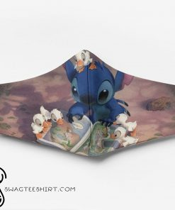 Stitch with ducks ew people full printing face mask