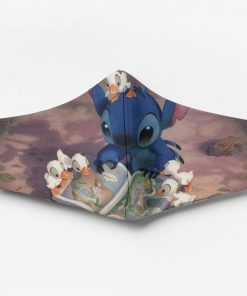 Stitch with ducks ew people full printing face mask 4