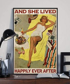 Sunbathing and she lived happily ever after poster 2
