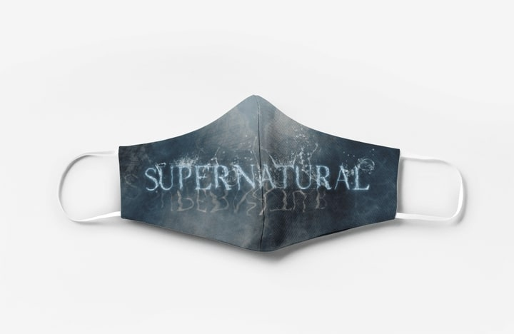Supernatural tv show full printing face mask 2