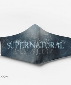 Supernatural tv show full printing face mask