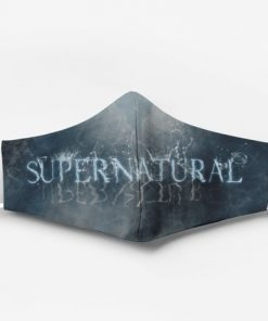 Supernatural tv show full printing face mask 3