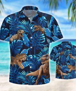 T-rex tropical shirt 1
