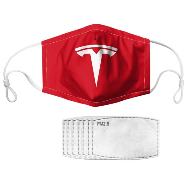 Tesla motors anti pollution face mask 1