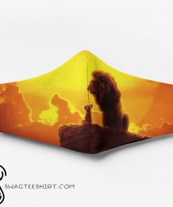 The lion king full printing face mask