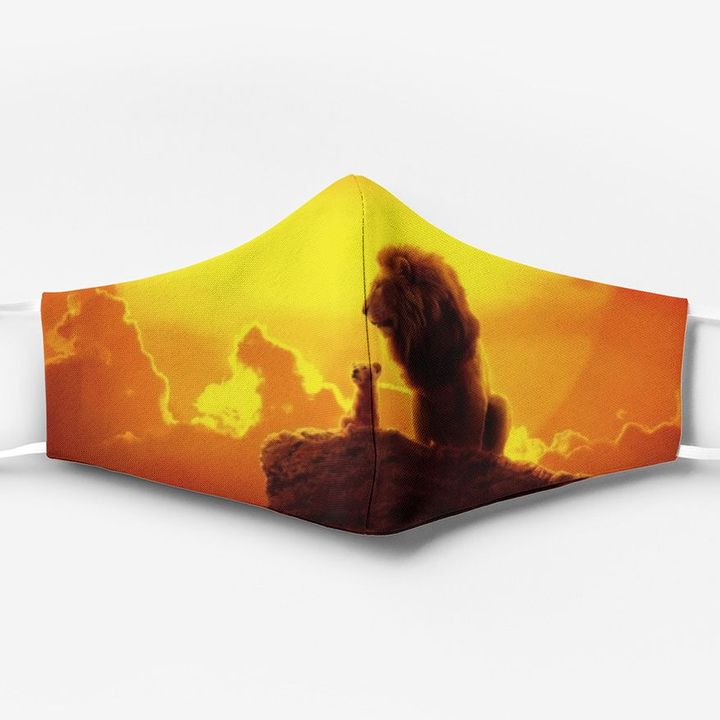 The lion king full printing face mask 4