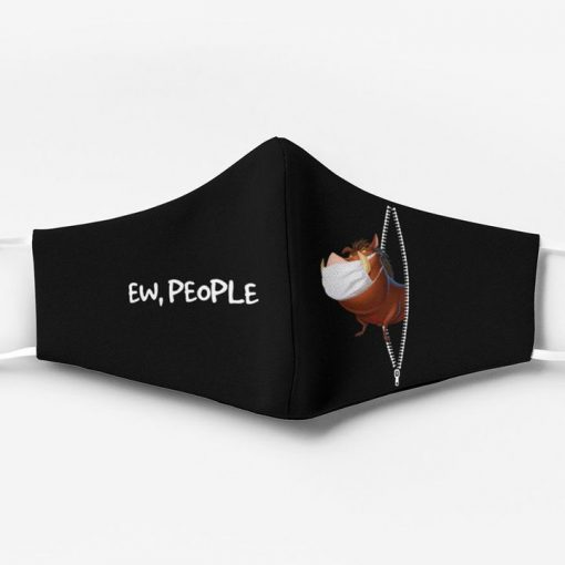 The lion king pumbba ew people full printing face mask 4