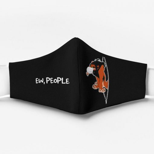 The lion king scar ew people full printing face mask 1