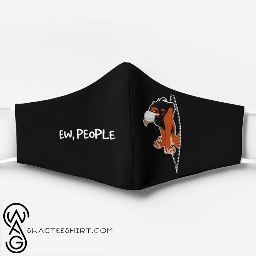 The lion king scar ew people full printing face mask