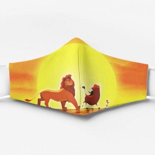 The lion king simba timon and pumbaa full printing face mask 1
