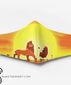 The lion king simba timon and pumbaa full printing face mask