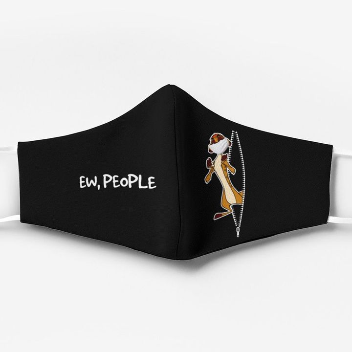 The lion king timon ew people full printing face mask 1