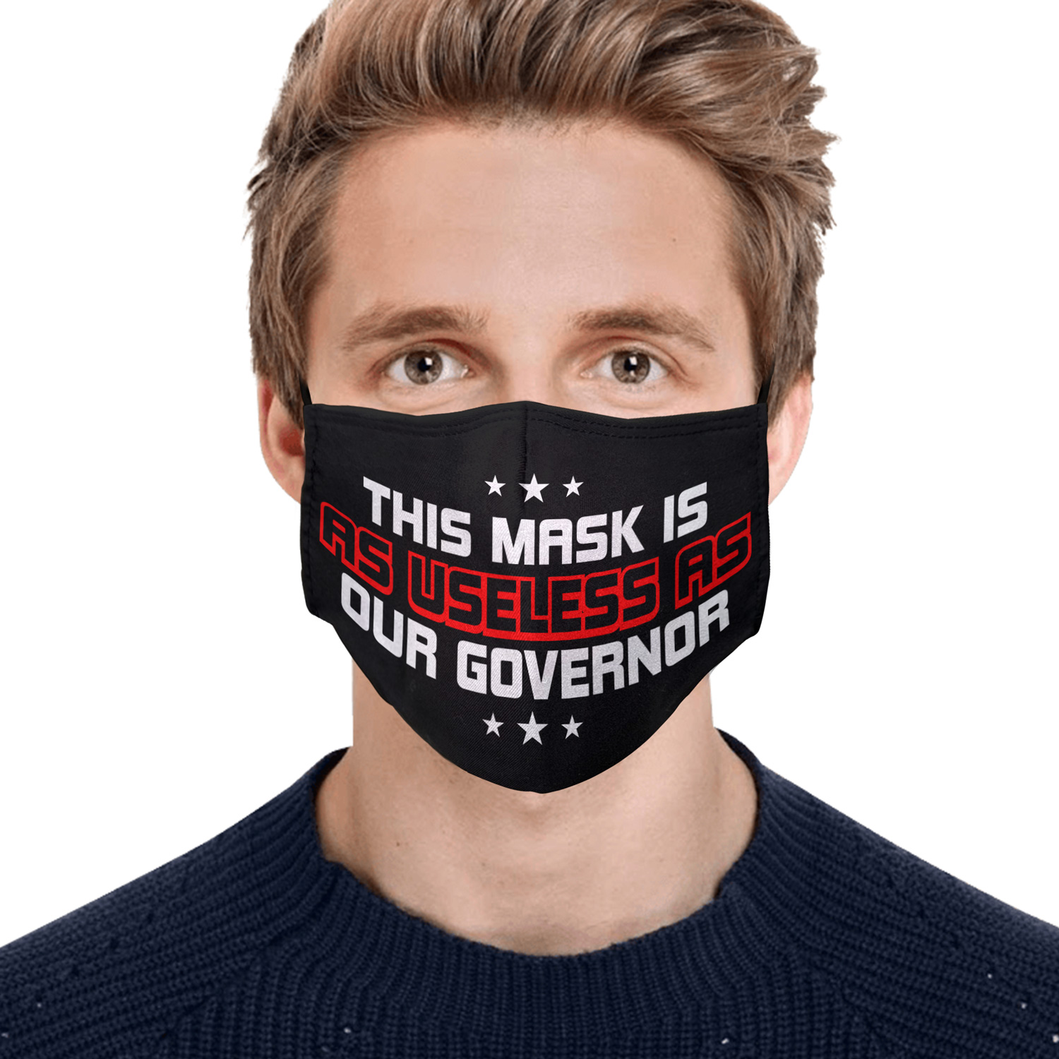This mask is as useless as our governor anti pollution face mask 1