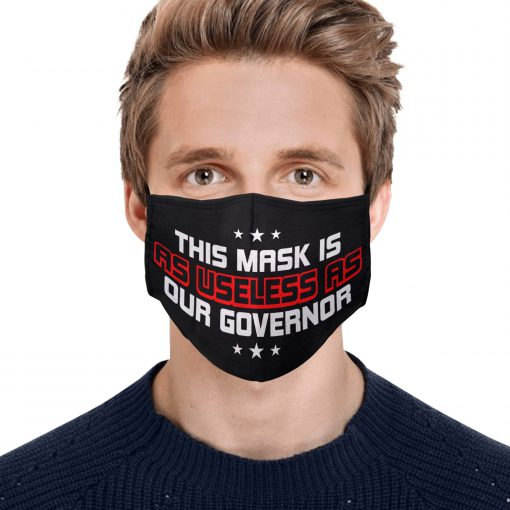 This mask is as useless as our governor anti pollution face mask 4