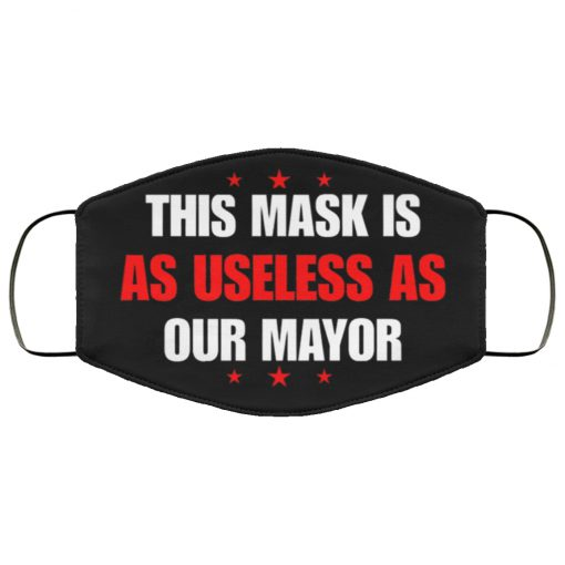 This mask is as useless as our mayor anti pollution face mask 3