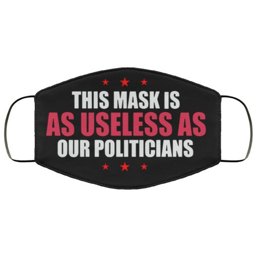 This mask is as useless as our politicians anti pollution face mask 2