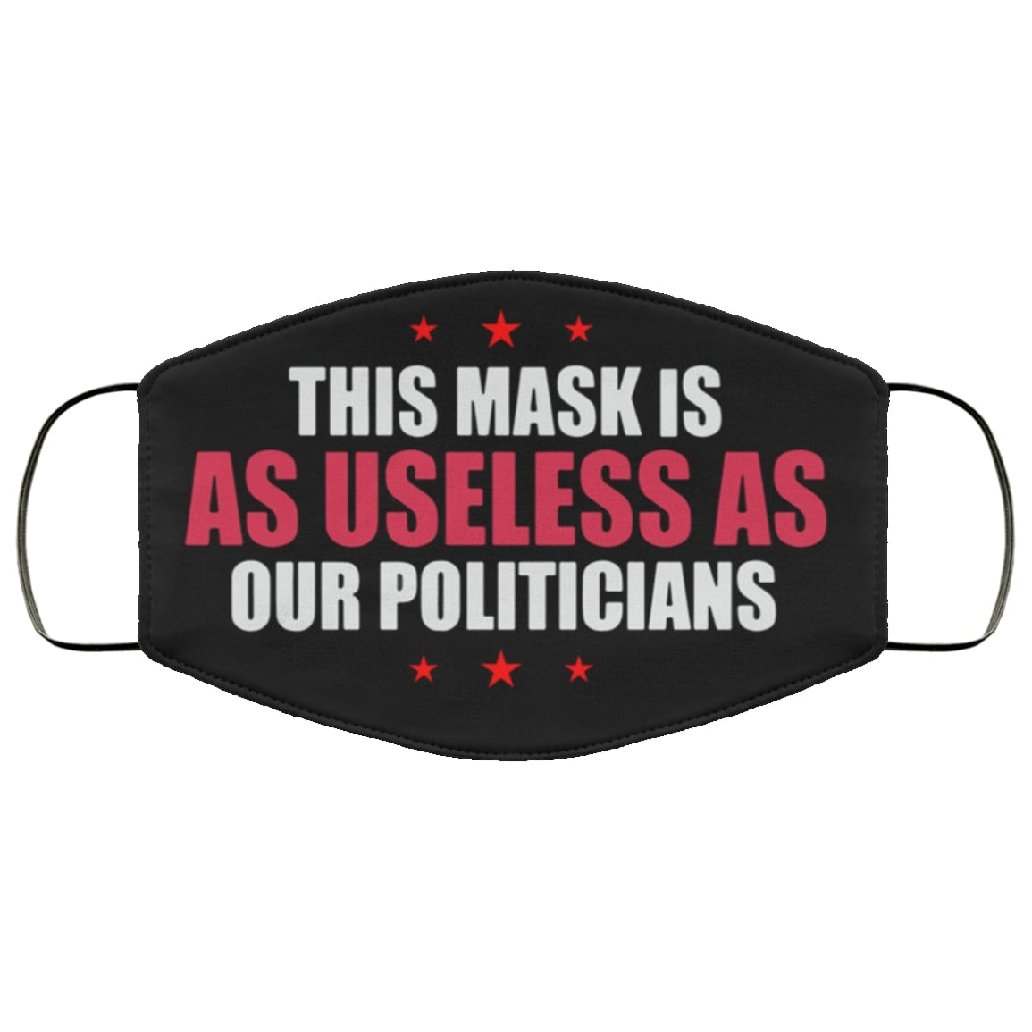 This mask is as useless as our politicians anti pollution face mask 3
