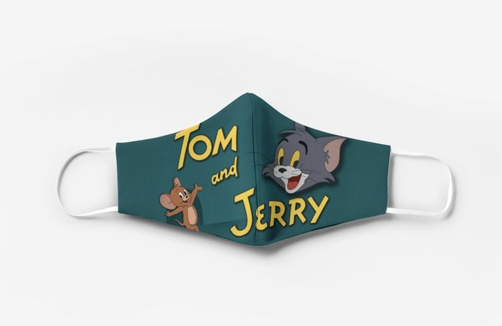 Tom and jerry cartoon full printing face mask 2