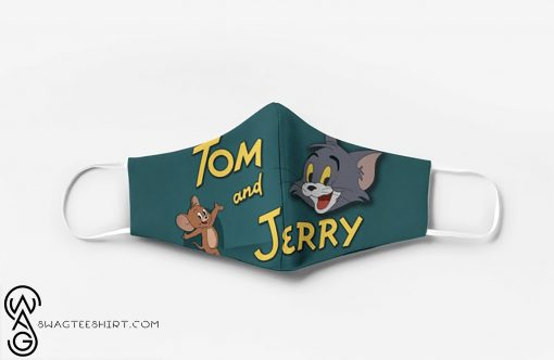 Tom and jerry cartoon full printing face mask