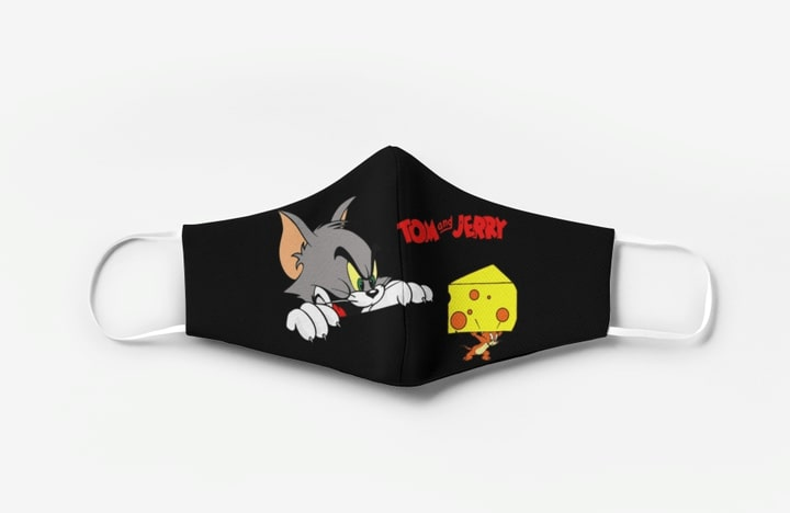 Tom and jerry full printing face mask 1