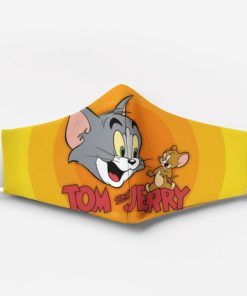 Tom and jerry movie full printing face mask 1