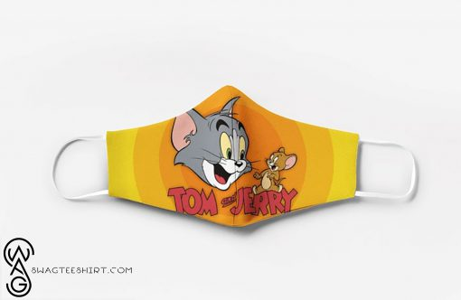 Tom and jerry movie full printing face mask