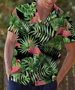 Tropical hawaii flamingo hawaiian shirt 2Tropical hawaii flamingo hawaiian shirt 2