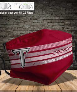 Troy trojans this is how i save the world face mask 4