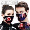 Utah utes football american flag full printing face mask