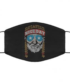 Willie nelson have a willie nice day anti pollution face mask 4