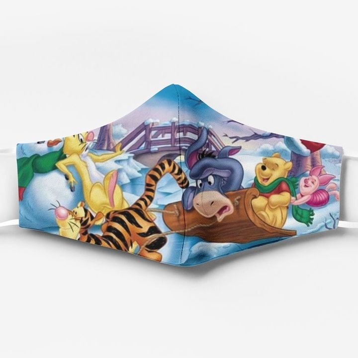 Winnie the pooh characters full printing face mask 2