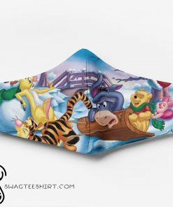 Winnie the pooh characters full printing face mask