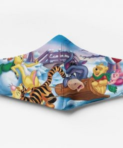 Winnie the pooh characters full printing face mask 4