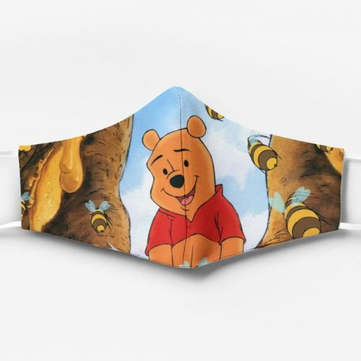 Winnie-the-pooh ew people full printing face mask 1