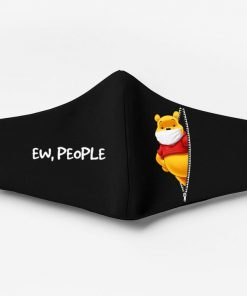 Winnie the pooh ew people full printing face mask 1