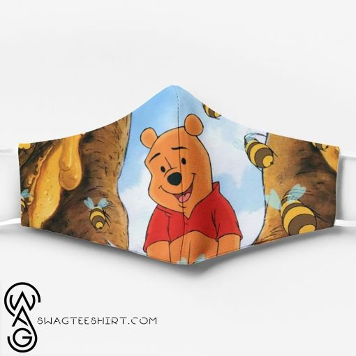 Winnie-the-pooh ew people full printing face mask