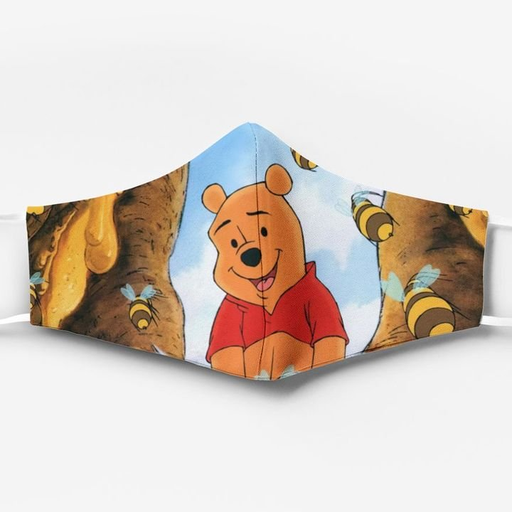 Winnie-the-pooh ew people full printing face mask 2